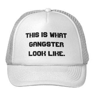 Detta är vad gangsterlooken like. keps