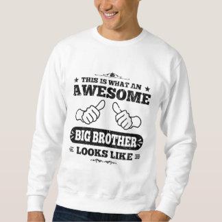 Detta är vilka enorma Looks för en storebror Lång Ärmad Tröja