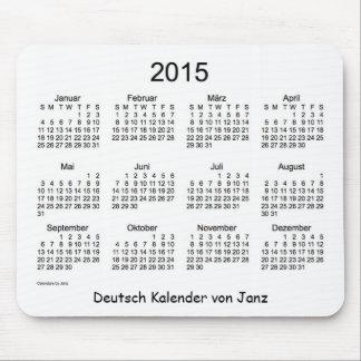 Deutsch 2015 Kalender Mus Matta