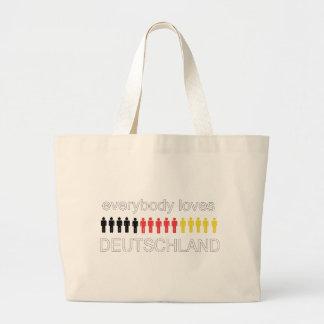 Deutschland älskaregåvor! jumbo tygkasse