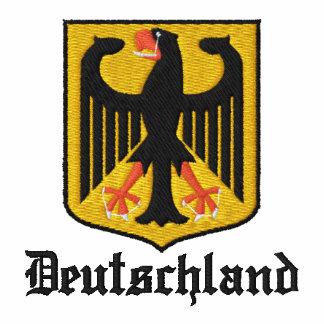 Deutschland broderade broderad tröja