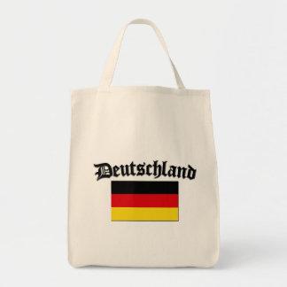 Deutschland flagga 1 mat tygkasse