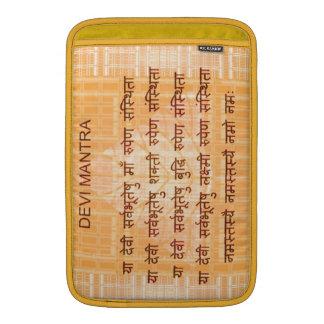 DEVI-Mantra - forntida Sanskrt HindiHinduism Sleeve För MacBook Air