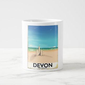 Devon England för en holiday. Jumbo Mugg