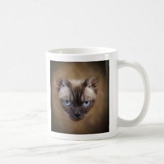 Devon Rex kattansikte Kaffemugg