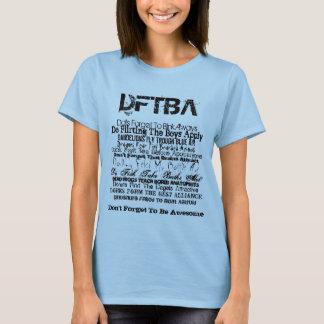 DFTBA Nerdfighter T-tröja Tee