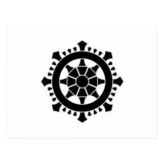 Dharma chakra vykort