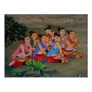 Dharma Groupies - vykort