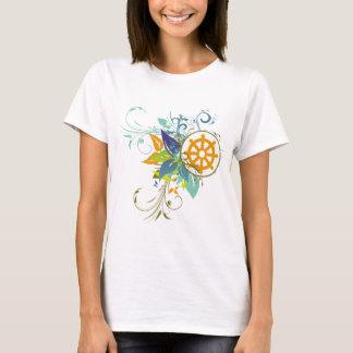 Dharma rullar blommigt tee shirts