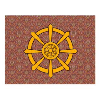Dharma rullar vykort