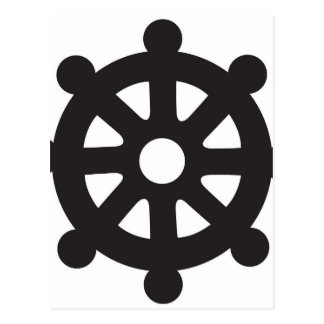 "Dharmacakra Dharmachakra, ""rullar av Dharma "", Vykort"