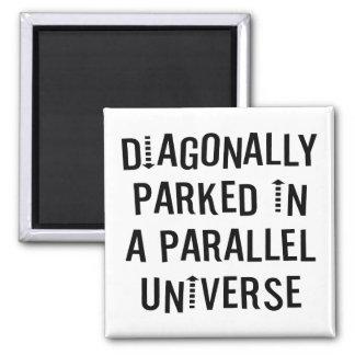 Diagonalt parkerat