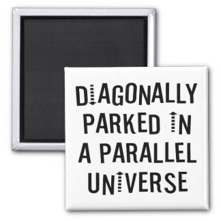 Diagonalt parkerat magneter