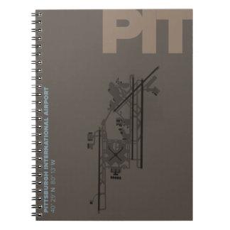 Diagram för Pittsburgh flygplats (GROP) Anteckningsbok
