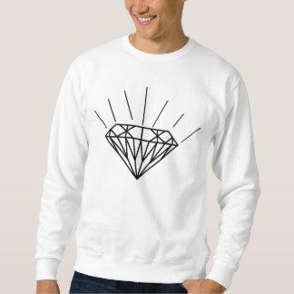 Diamant Crewneck Långärmad Tröja