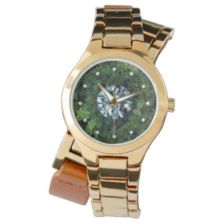Diamant i det grova armbandsuret armbandsur