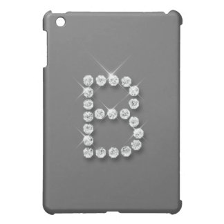Diamant initialt B iPad Mini Fodral