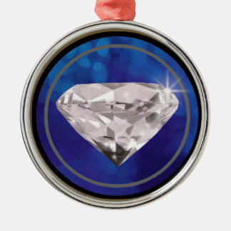 diamant~jewels julgransprydnad metall
