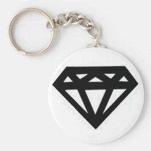 Anpassningsbara Diamanter Nyckelringar  da353287978cb