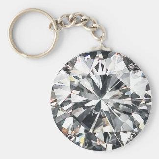 Diamanter Rund Nyckelring