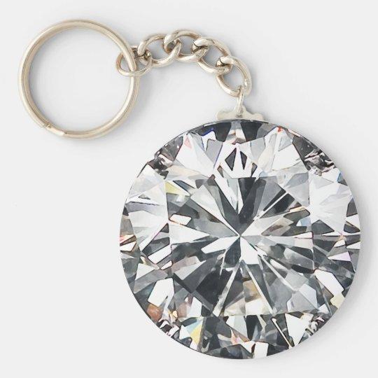 Diamanter Rund Nyckelring  caa706e58fcdc