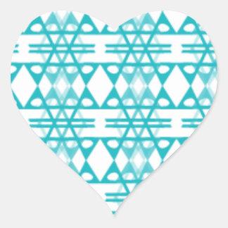 Diamantis Hjärtformat Klistermärke