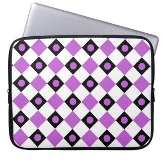 Diamantmönster #91 laptop sleeve