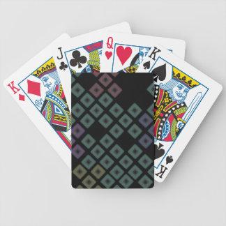 diamantmönster spelkort