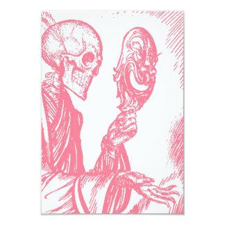 Diameter de Los Muertos day of the 8,9 X 12,7 Cm Inbjudningskort