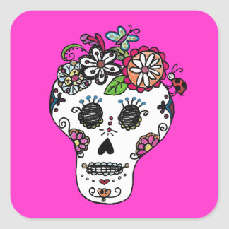 Diameter de Los Muertos, Fyrkantigt Klistermärke