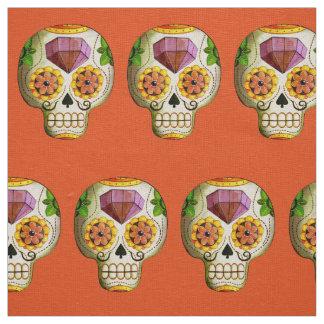 Diameter de Los Muertos Mexikan sockerskalle Tyg