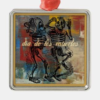 Diameter De Los Muertos Smycka Julgransprydnad Metall