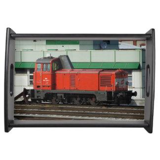 Diesel- Shunter 2067 097-2 Serveringsbricka