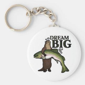 Dig dröm- stort för utter rund nyckelring