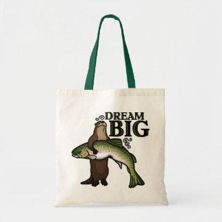 Dig dröm- stort för utter tygkasse