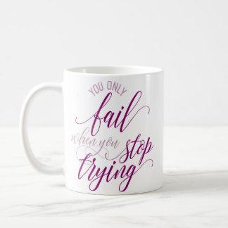 """""""Dig endast kuggning, om du stoppar pröva"""", Kaffemugg"""