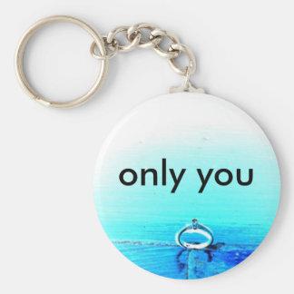 dig endast rund nyckelring