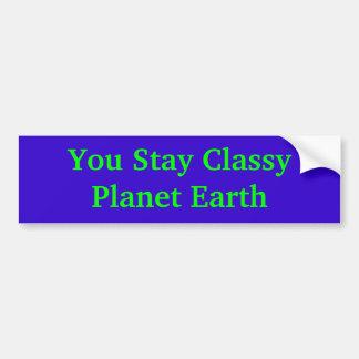 Dig flott planetjord för stag bildekal