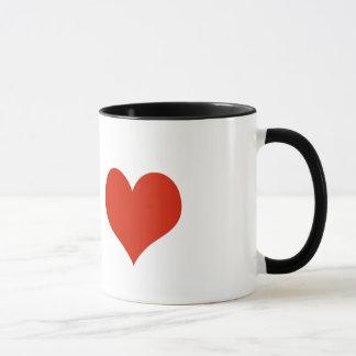 Dig & mig = kärlek mugg
