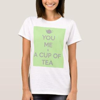 Dig, mig och en kopp av Tea T Shirts