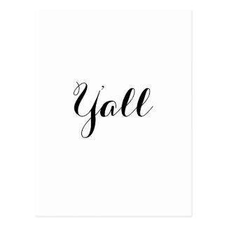Dig typografi vykort