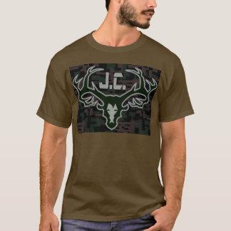 Digi för huvud för Jesus landtrofé kam T-shirts
