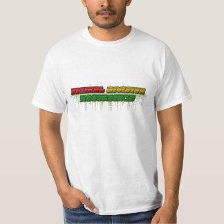 Digikal uppdelningsinspelningar t-shirt
