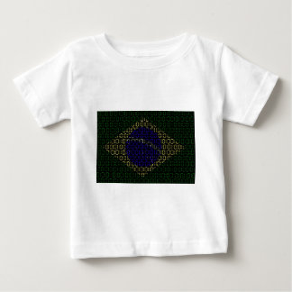 digital flagga (Brasilien) T Shirts