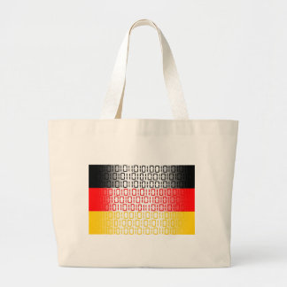 digital flagga (Tysklandet) Tote Bag