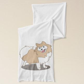 Digital illustration - Pomeranian hund Sjal
