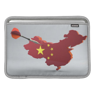 Digital komposit av chinan MacBook sleeve