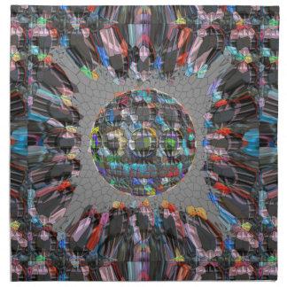 Digital målad konstnärlig diamant tygservett
