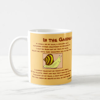 Dikter för muggsnigelhummer kaffemugg