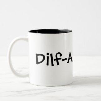 Dilf pappa Två-Tonad mugg